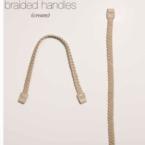 Miche Cream Braided Handles/Straps